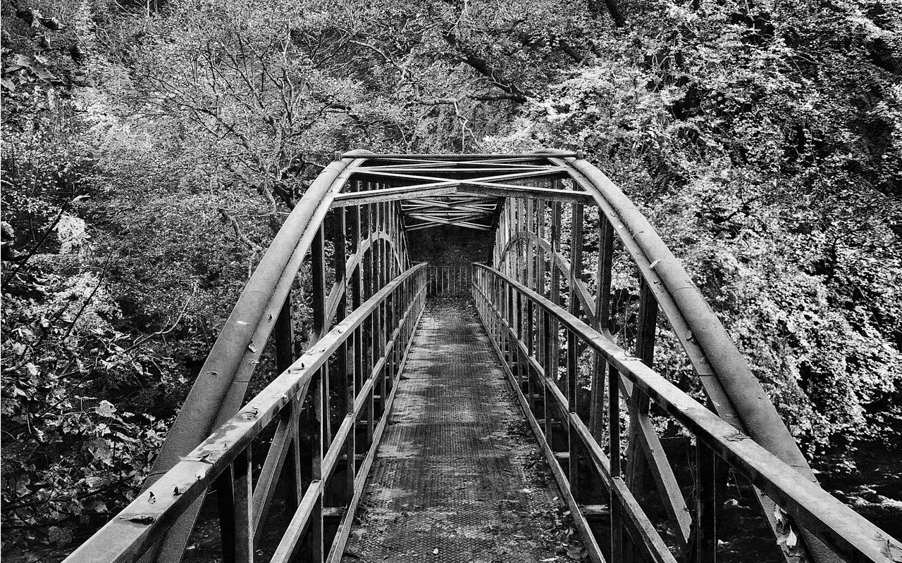 Almondell Park Bridge